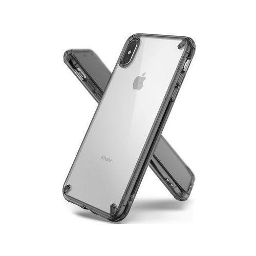 Rearth Etui ringke fusion apple iphone xs max smoke black - czarny