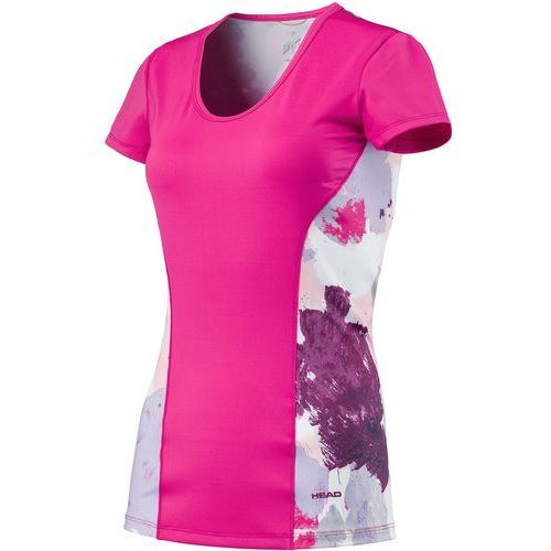 koszulka sportowa vision graphic shirt g magenta 140 marki Head