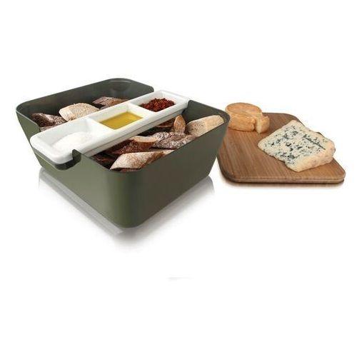 Pojemnik na pieczywo bread & dip - khaki marki Vacu vin