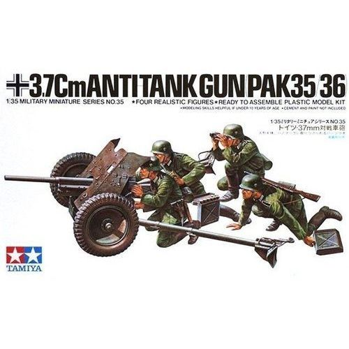TAMIYA German 37mm Anti- tank Gun (4950344996117)