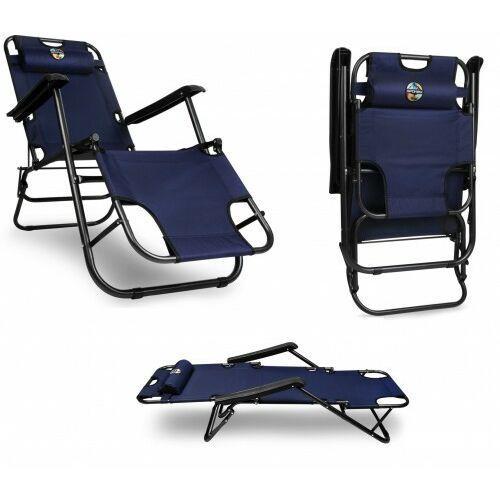 Krzesło turystyczne składane Leżak ogrodowy Spokey (5902693267980)