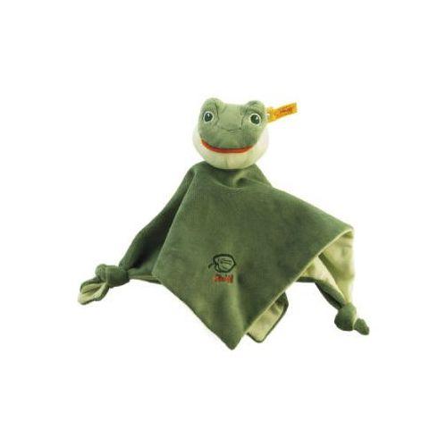 Steiff  szmacianka-przytulanka żabka fabio, 26 cm, kolor zielony (4001505240447)