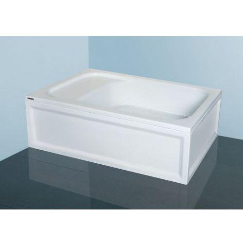 Sanplast Classic brodzik prostokątny 80x110 cm z siedziskiem Bzs/CL80x110x28+STB 615-010-0530-01-000, 615-010-0530-01-000