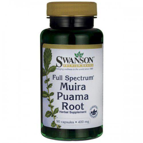 Swanson Full Spectrum Muira Puama 400mg - (90 kap)