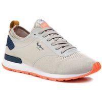 Sneakersy PEPE JEANS - Boston Knit PMS30519 Lt Grey 905