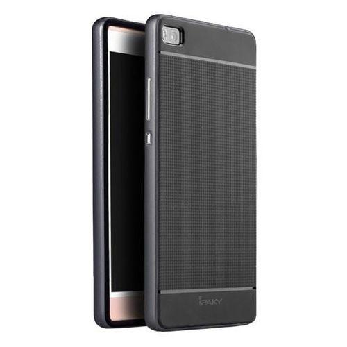 Etui iPaky Premium Hybrid Huawei P8 Grey + Szkło (5903068631078)