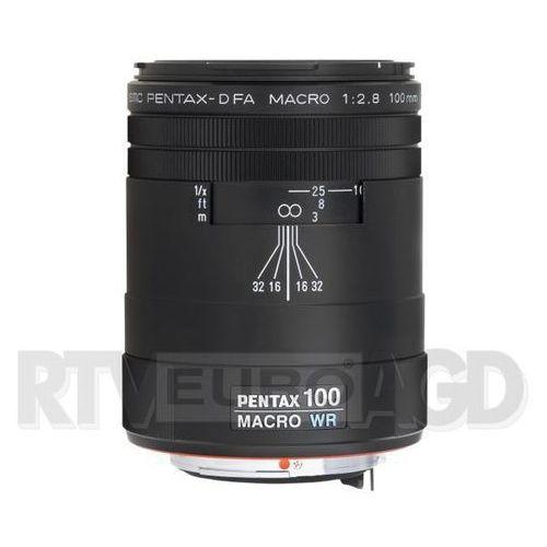 Pentax smc d fa 100 mm f/2.8 macro wr - produkt w magazynie - szybka wysyłka!
