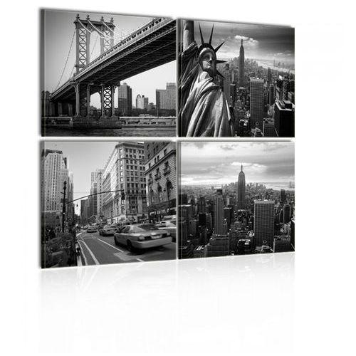 Obraz - Stylowy Nowy Jork (40x40 cm)