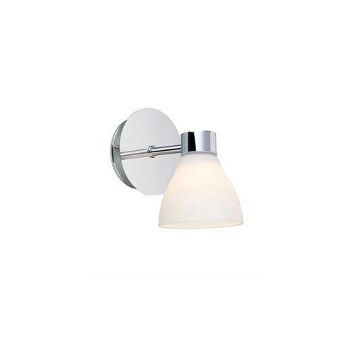 Kinkiet lampa ścienna cassis 106367 halogenowa oprawa szklana ip44 chrom biały marki Markslojd