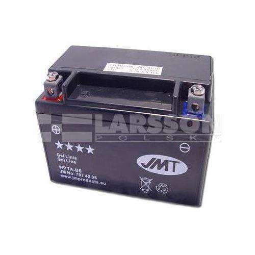 Akumulator żelowy jmt ytx7a-bs (wp7a-bs) 1100483 sym symply 25, aprilia sxv 450 marki Jm technics