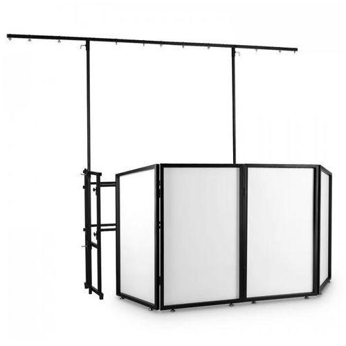 Frontstage dj booth ze stojakiem na efekty oświetleniowe zestaw (4260440463278)