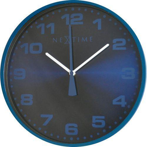 Nextime Zegar dash 35 cm blue