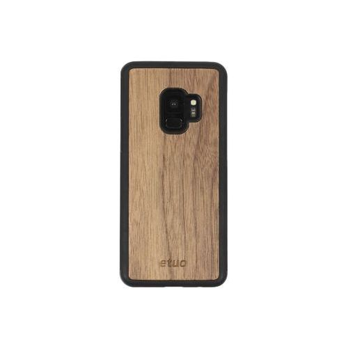 Samsung Galaxy S9 - etui na telefon Wood Case - orzech amerykański, ETSM671WOOD00O000