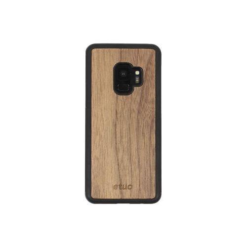 Samsung Galaxy S9 - etui na telefon Wood Case - orzech amerykański