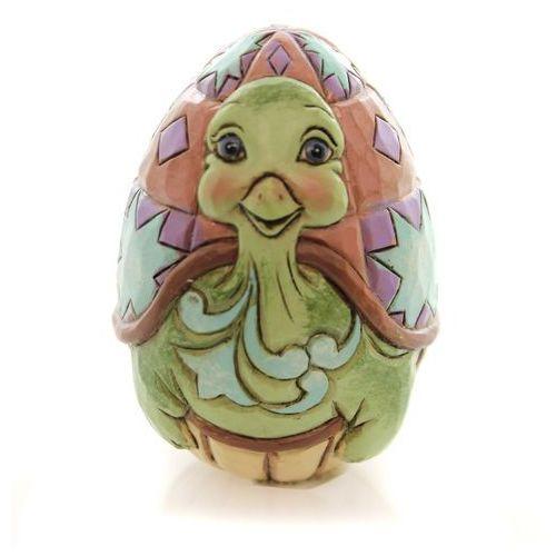 Pisanka jajko Wielkanocne żółwik Mini Character Eggs 4051405 Jim Shore figurka ozdoba świąteczna