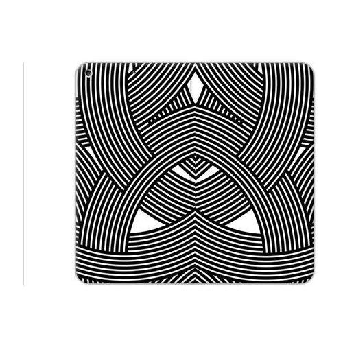 Etuo.pl Etuo flex book fantastic - apple ipad (2017) - etui na tablet flex book fantastic - biało-czarna mozaika
