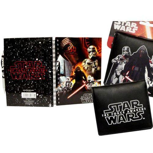 Zestaw STAR WARS portfel+zeszyt notes