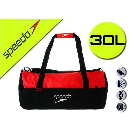 Speedo Torba sportowa duffel czarno-czerwony (5051746937575)
