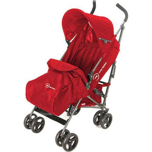 Sun Baby Wózek spacerowy Almond, czerwony