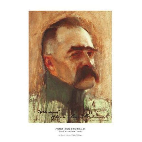 Plakat A3 - Portret Józefa Piłsudskiego, Konrad Krzyżanowski (1920 r.) GPlakJP08