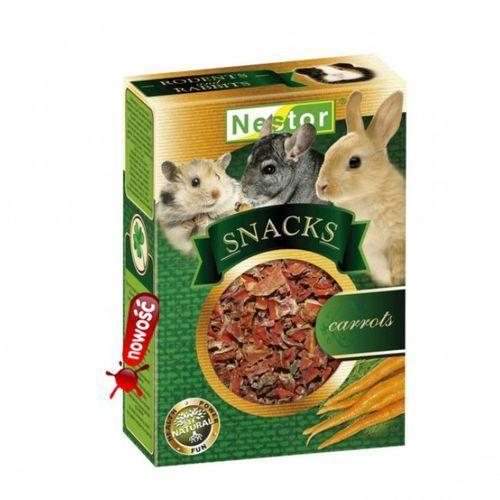 NESTOR Snacks Premium przekąska dla gryzoni i królików - Marchewka