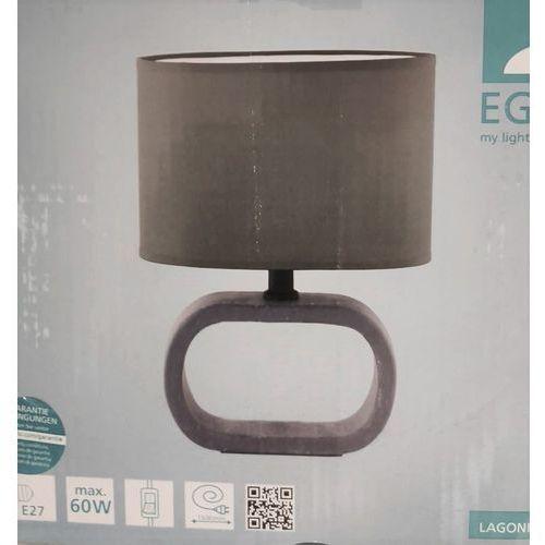 Eglo 97093 - lampa stołowa lagonia 1 1xe27/60w/230v