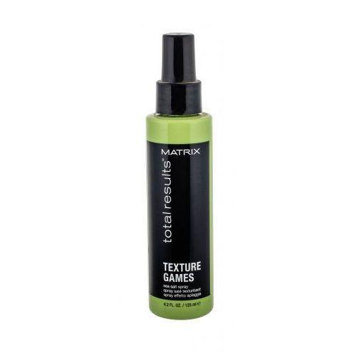 Matrix total results texture games sea salt spray stylizacja włosów 125 ml dla kobiet