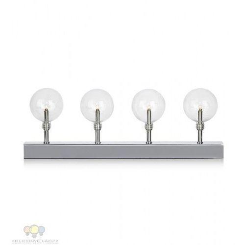 Stojąca lampa stołowa junior 704451 metalowa oprawa listwa na biurko szklane kule balls chrom przezroczyste marki Markslojd