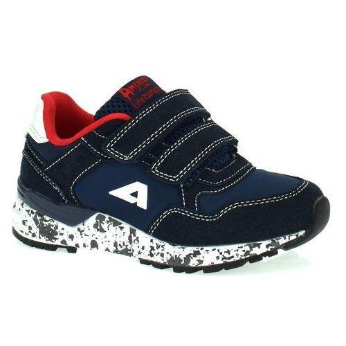 Sportowe buty dla dzieci bs 12/19 - granatowy marki American club