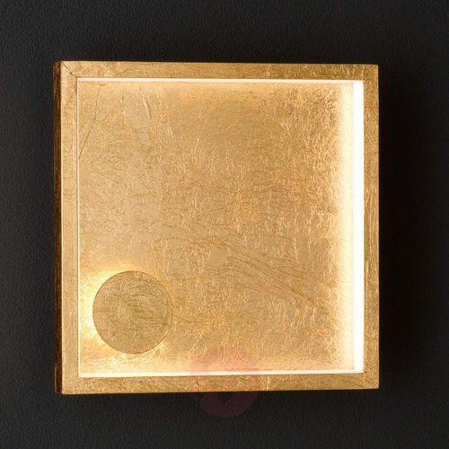 Letizia - kinkiet LED, 2-punktowy, złoty