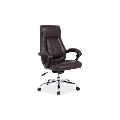 Fotel biurowy BOSS brązowy, SIGNAL, OBRBOSSBR