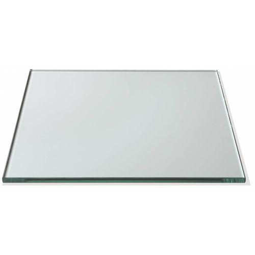 Płyta kwadratowa przezroczysta ze szkła hartowanego | różne wymiary marki Rosseto