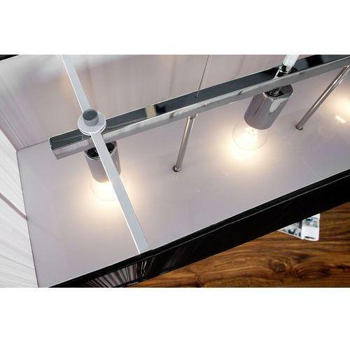 Lampa wisząca Azilo 80 cm x 20 cm - 20cm x 80cm x Wys. 30cm \ srebrny