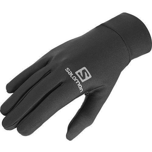 agile warm rękawiczka czarny m 2019 rękawiczki do biegania marki Salomon