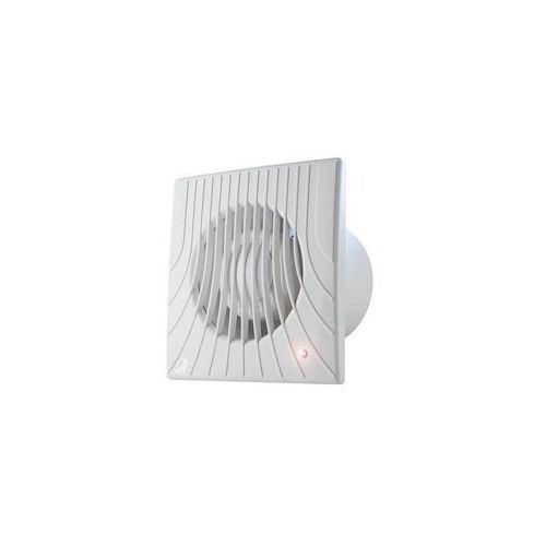 Wentylator wyciągowy fi 100 14W 98m3/h 230V IPX4 biały wył. czasowy E0007848W WA100T AWENTA
