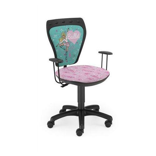 Krzesło dziecięce ministyle barbie baletnica bl marki Nowy styl