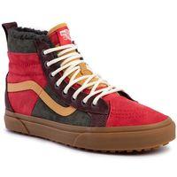 Sneakersy VANS - Sk8-Hi 46 Mte Dx VN0A3DQ5TUA1 (Mte) Poinsettiaforestnght, kolor wielokolorowy