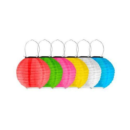 Polux Lampka solarna lampion ip44 mix kolorów