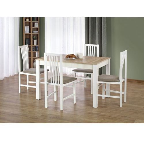 Zestaw stołowy - Halmar - stół Ksawery + 4 krzesła Paweł