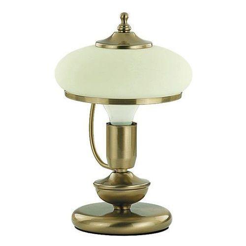 Alfa Lampa stołowa prestige 10908.63 1x60w e27 szampański/ecru