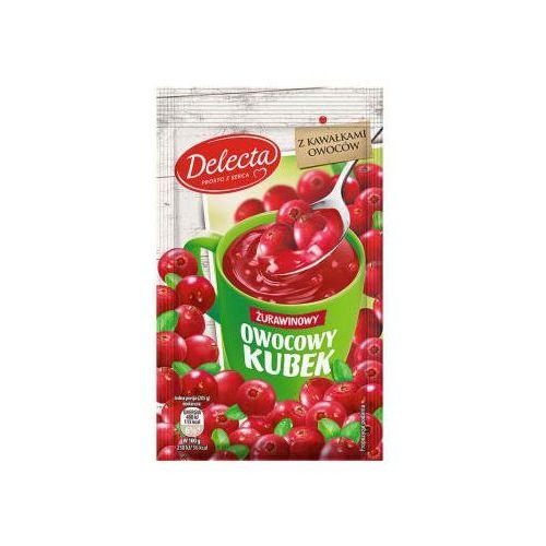 Delecta 30g owocowy kubek kisiel smak żurawinowy