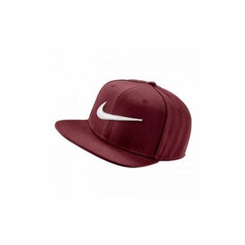 Nike Sportswear SWOOSH PRO Czapka z daszkiem team red/pine green/black/white z kategorii Pozostała odzież sportowa