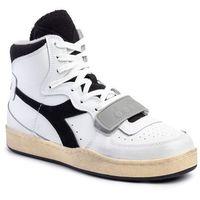 Sneakersy - mi basked used 501.174766 01 c0351 white/black, Diadora, 40.5-45.5