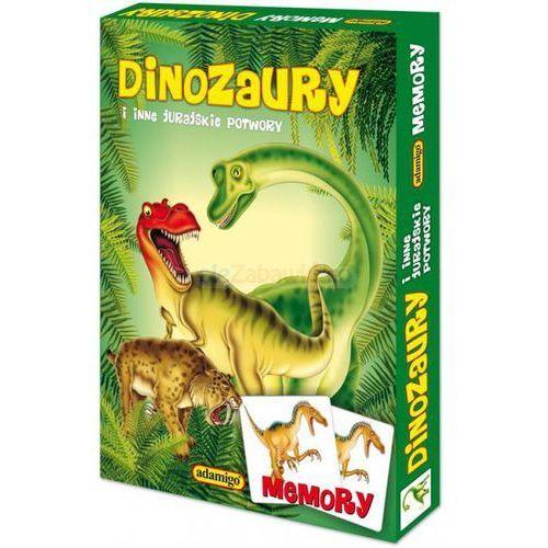 Adamigo Memory - dinozaury