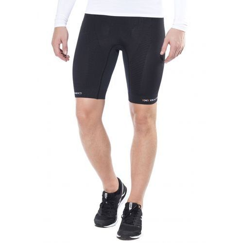 trail running effektor power spodnie do biegania mężczyźni czarny legginsy kompresyjne marki X-bionic