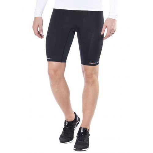 trail running effektor power spodnie do biegania mężczyźni czarny xl legginsy do biegania marki X-bionic