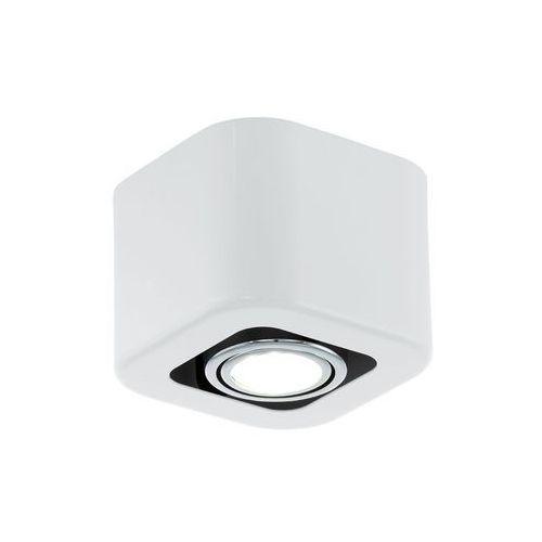 Eglo Downlight lampa sufitowa toreno 93011  natynkowa oprawa plafon ip20 kwadrat biała (9002759930110)