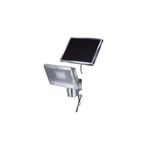 aluminiowa lampa solarna led z czujnikiem ruchu marki Brennenstuhl