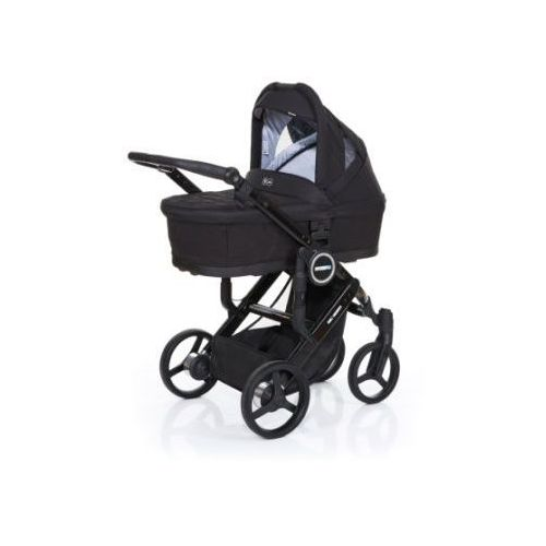 Abc design wózek dziecięcy mamba plus black-black, stelaż black / siedzisko black (4045875038082)
