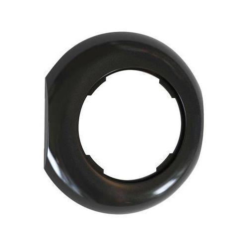 Ramka pojedyncza lf1002b loft środkowa czarny marki Dpm